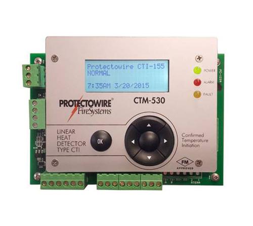FM认证感温线缆式感温探测器