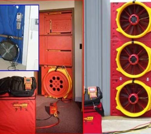 Door-Fan-Test气密性测试