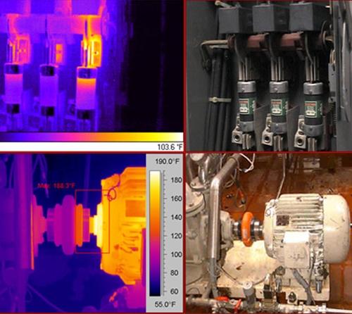 红外线热成像检测