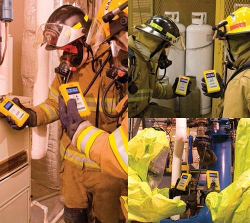 气体探测和危险品反应训练