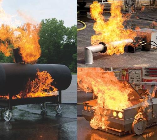 先进的消防训练道具